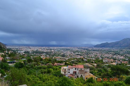 Palermo vista da Monreale (873 clic)