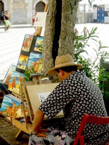 Artista - Taormina (3062 clic)