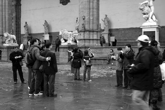 Firenze, dicembre (1988 clic)