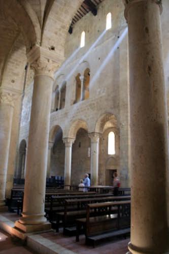Montalcino, Abbazia di Sant'Antimo (2998 clic)