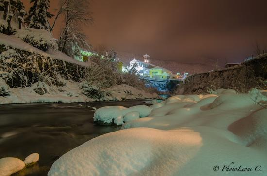 Una sera d'inverno al fiume - Masone (3476 clic)