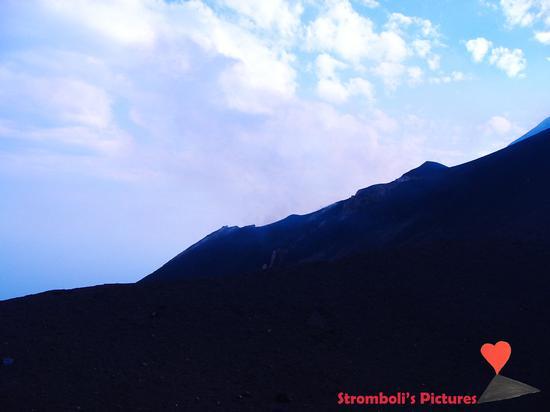 Il vulcano Stromboli visto da Ginostra. (476 clic)