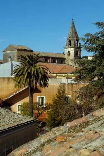 veduta campanile Chiesa dei Bianchi - Trecastagni (3869 clic)