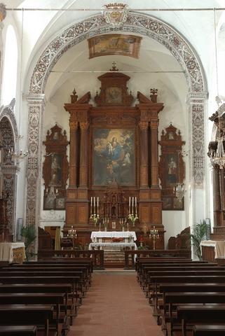 Chiesa San Antonio di Padova - Altare ligneo  - Trecastagni (8298 clic)