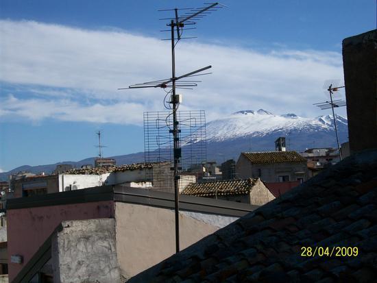Vista  dell Etna  da Paternò (1409 clic)