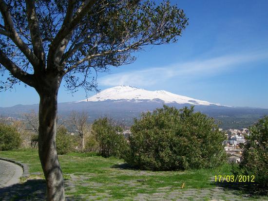 Vista  Dell Etna da Paternò  ( ct )) (1378 clic)