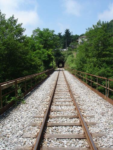 Ferrovia calabro Lucana in località Coraci - Colosimi (829 clic)