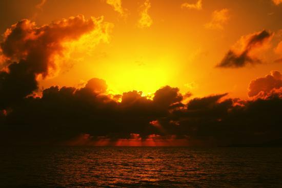 tramonto infernale - Alghero (1045 clic)