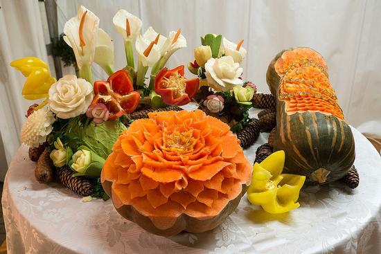Sculture di verdure - Cavour (750 clic)