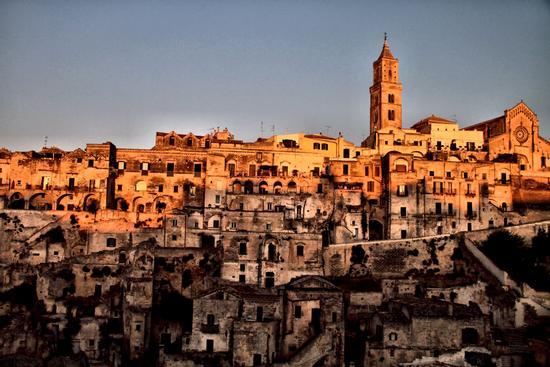 Tramonto su Matera (1083 clic)