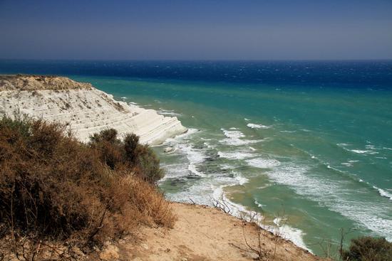 Mare di Sicilia - Scala dei turchi (1032 clic)
