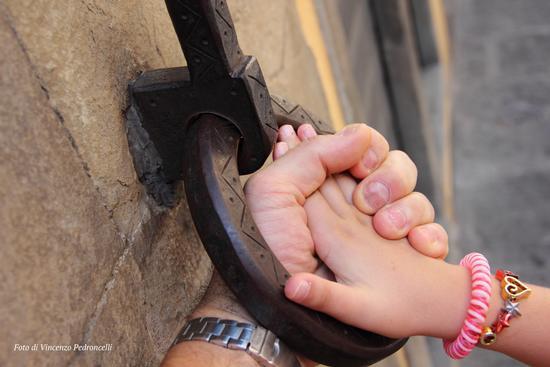 Io e mia Figlia sul ponte Vecchio - Firenze (883 clic)