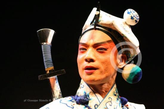 Catania - Maschera teatrale della Compagnia Nazionale d'Opera Cinese  (4017 clic)