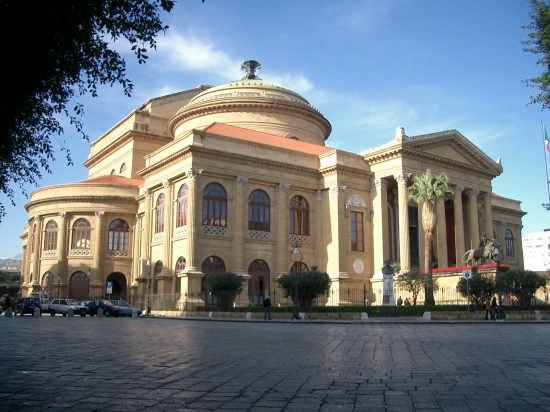 Teatro Massimo - Palermo (3999 clic)