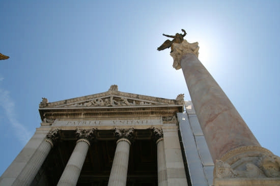 Altare della Patria (particolare) - Roma (2056 clic)