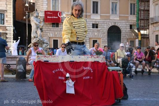 Roma - Artista di strada. (2443 clic)