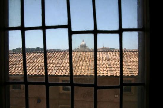 San Pietro vista da Castel Sant'Angelo - Roma (1750 clic)