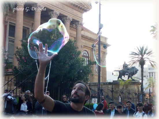 Le bolle di sapone 2 - Palermo (519 clic)