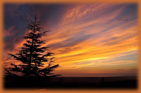 Spettacolare tramonto di Settembre  visto da Adragna.!! - Sambuca di sicilia (561 clic)