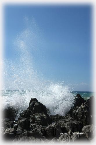 La volatilizzazione dell'onda....! - Cefalù (569 clic)