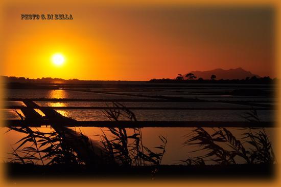 bel tramonto alle saline di Marsala....!!! (359 clic)