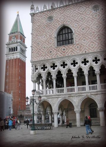 Palazzo Ducale e  Campanile a Piazza San Marco - Venezia (439 clic)