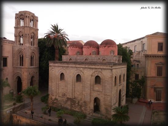 la Chiesa di San Cataldo  architettura arabo Normanna - Palermo (436 clic)