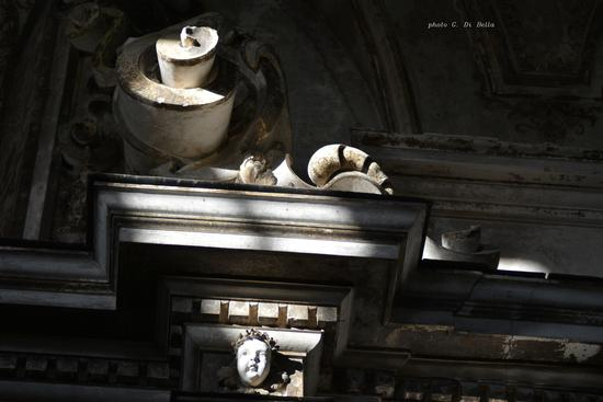 stucchi della Chiesa di Santa Caterina d'Alessandria - Sambuca di sicilia (691 clic)