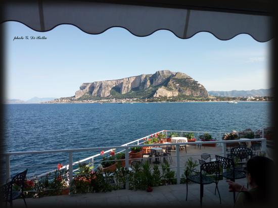 Montepellegrino vista da Mondello - Palermo (617 clic)