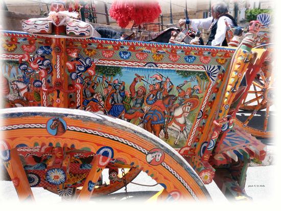 La festa di MM.SS.  I carretti siciliani - Sambuca di sicilia (99 clic)