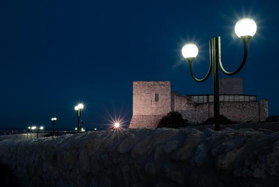 Luci su Castello - Cagliari (650 clic)