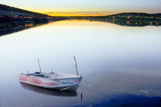 Riflesso sull'acqua - Sant'antonio di santadi (591 clic)