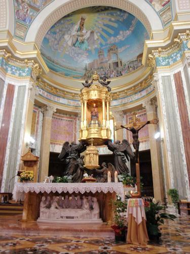 Interno Santuario Madonna del Tindari (1814 clic)