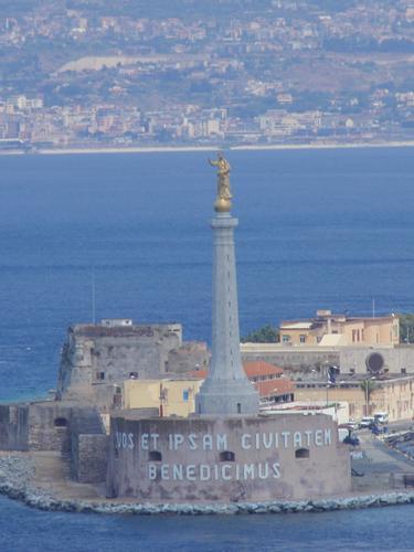 La Madonnina dello Stretto    - Messina (1820 clic)
