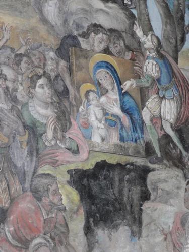 Affresco interno Duomo   - Pietraperzia (790 clic)
