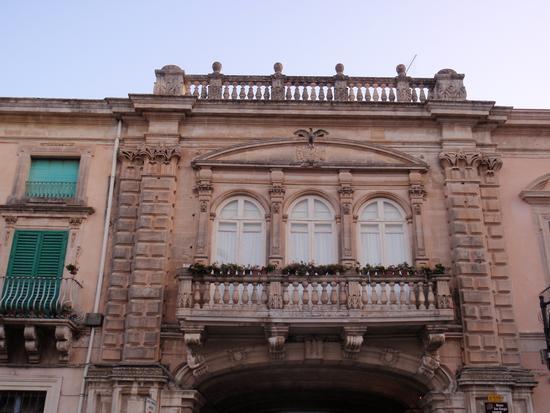 Balcone in stile Barocco in Ragusa Ibla  - RAGUSA - inserita il 08-Aug-12
