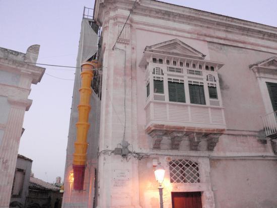 Balcone della gelosia in Ragusa Ibla  (3003 clic)