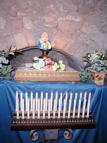 Madonnina delle lacrime in Ragusa Ibla   (1550 clic)
