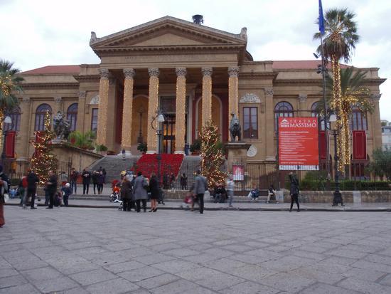 Teatro Massimo  - Palermo (915 clic)