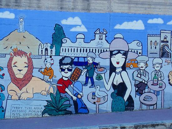 Murales - Leonforte (1350 clic)