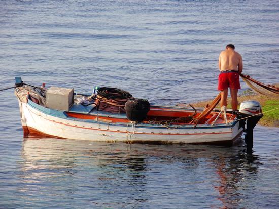 dopo la pesca  - Aspra (1170 clic)