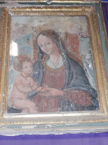 Madonna della Melagrana - Interno Duomo  - Enna (1107 clic)