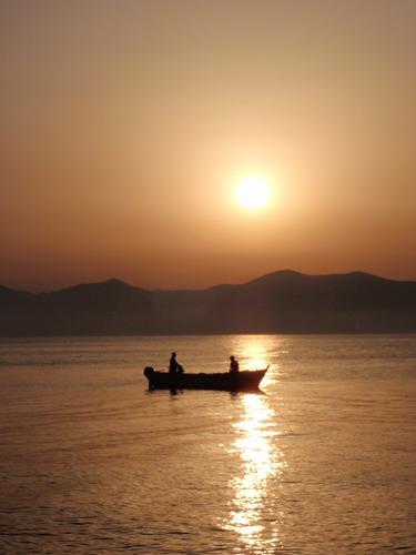 tramonto  - Aspra (1338 clic)