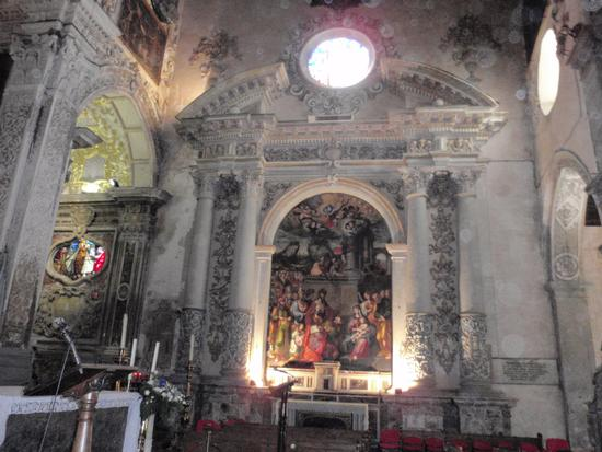 Madonna del Pilar - Interno Duomo   - Enna (1414 clic)
