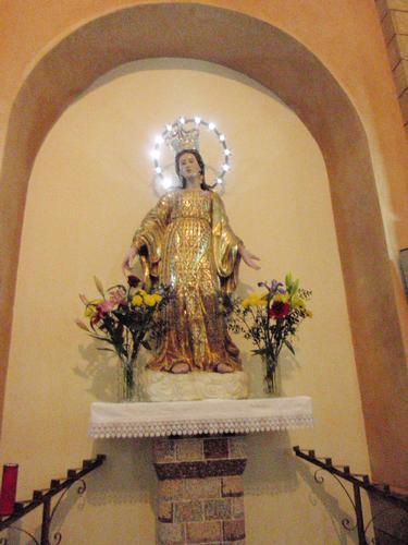 Madonna delle Grazie - Chiesa San Leone  - Enna (1957 clic)