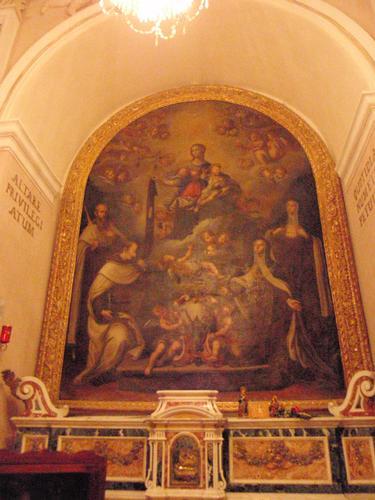 Altare dei Privilegi - Interno chiesa San Marco   - Enna (1562 clic)