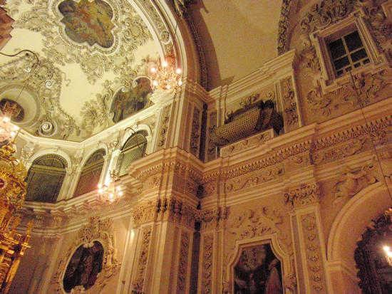 Interno chiesa San Marco   - Enna (1245 clic)