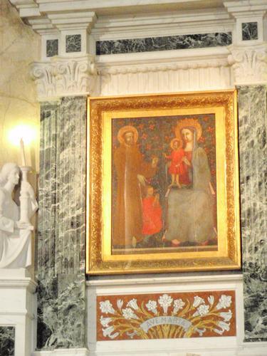 Quadro Madonna della MIlicia  - Altavilla milicia (1132 clic)