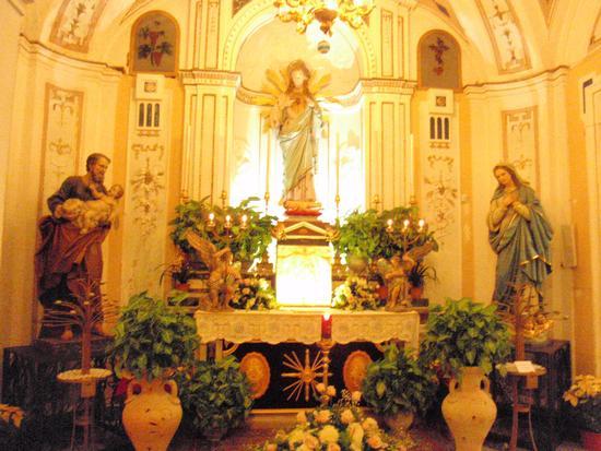 Santissimo (parrocchia Sant'Anna)  - Santa flavia (1901 clic)