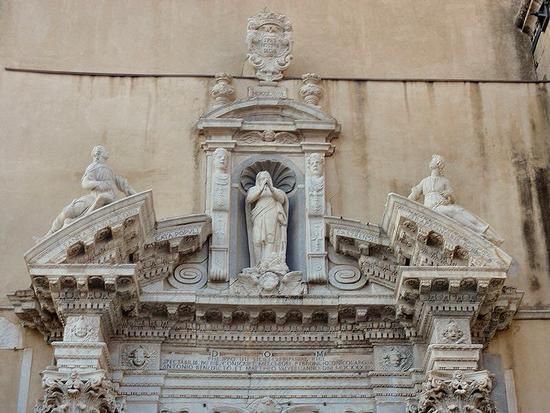 particolare Duomo  - Castroreale (90 clic)